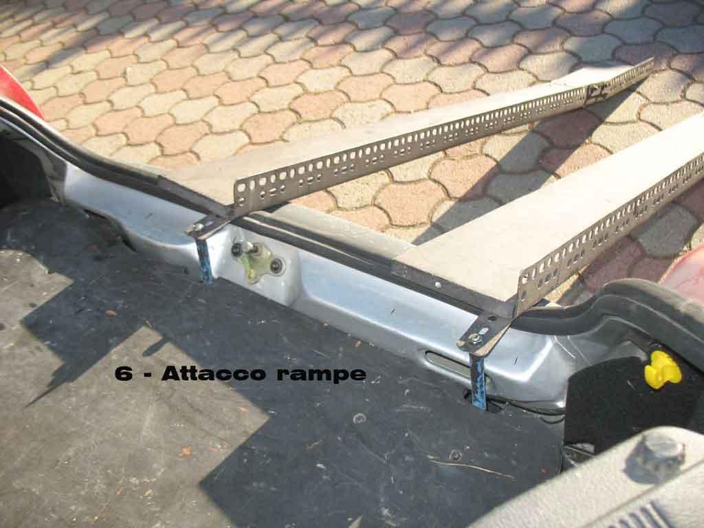 Rampe pieghevoli per carico telescopio dobson in auto for Costo per costruire un garage per due auto